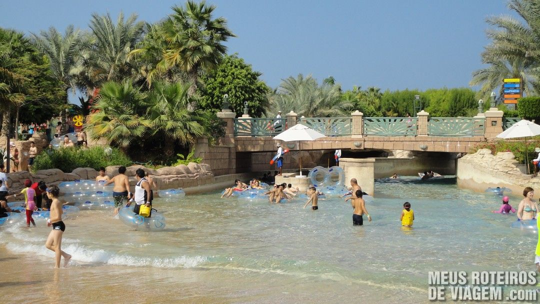Parque aquático Aquaventure - Atlantis The Palm, Dubai