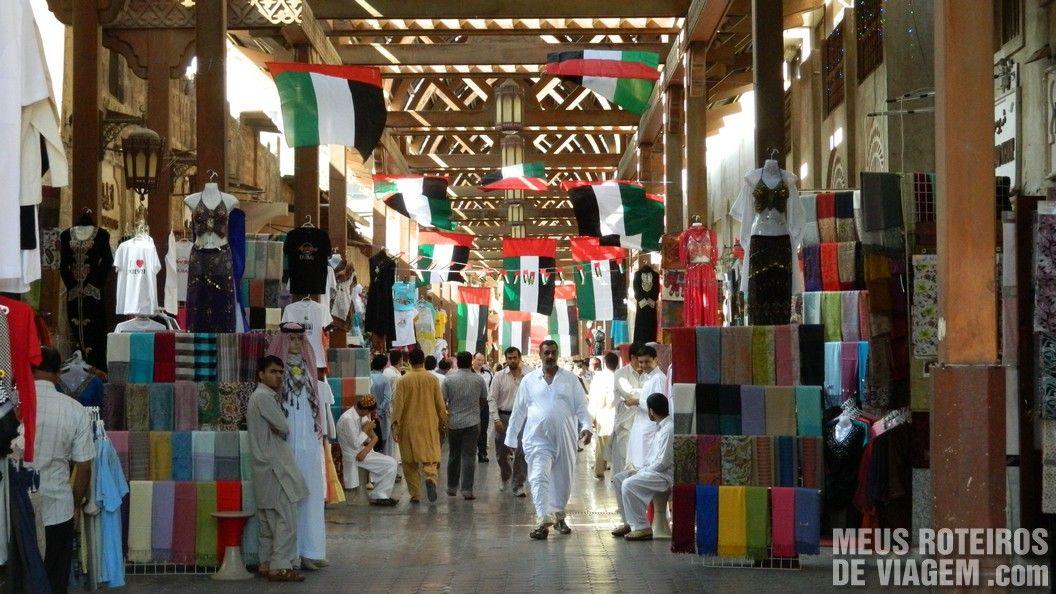 Mercado em Bur Dubai
