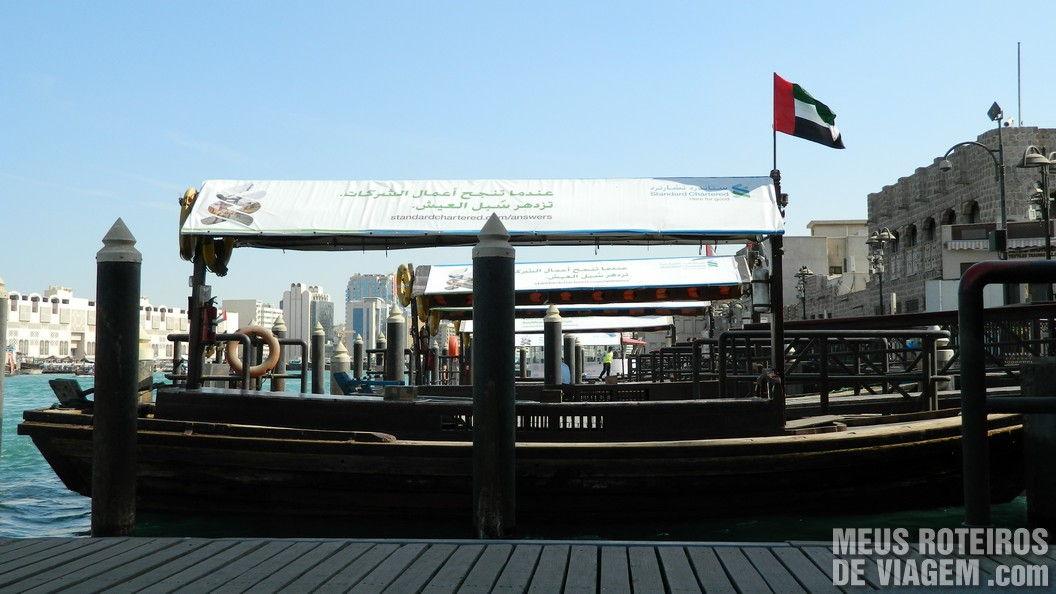 Abras no terminal de Bur Dubai