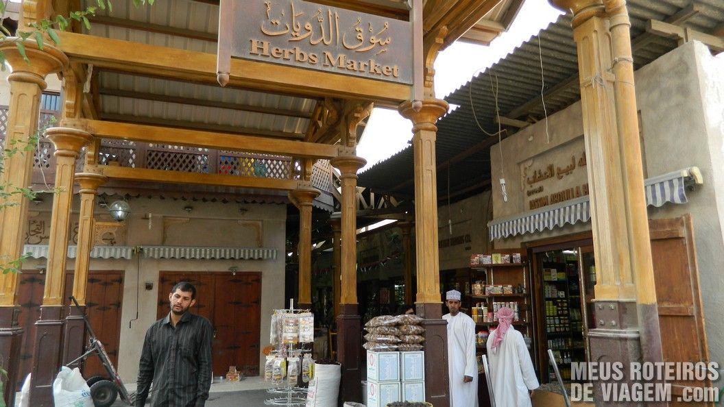 Mercado de Especiarias / Dubai Spice Souk