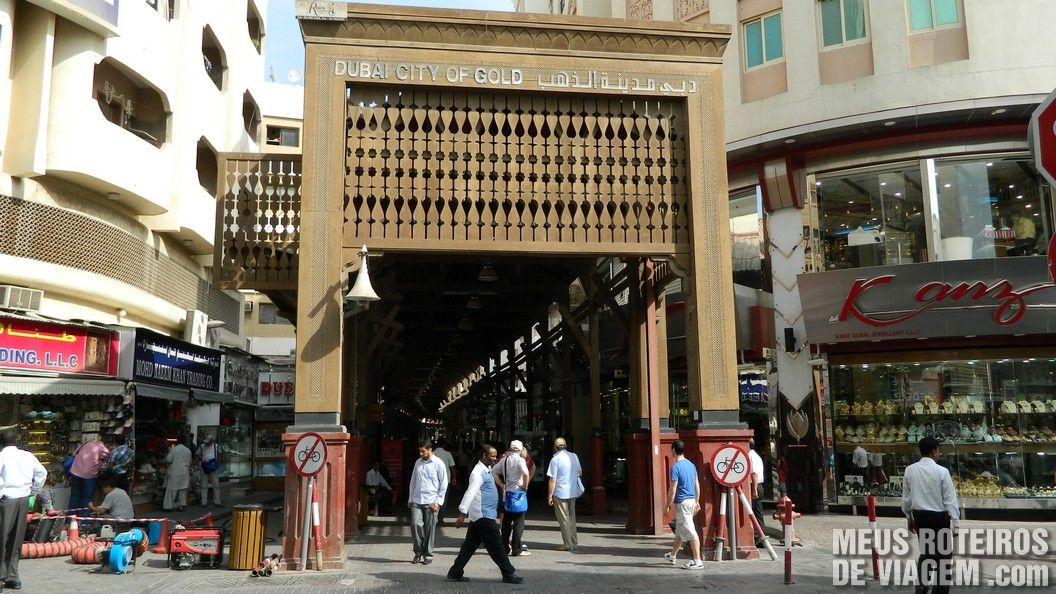 Mercado de Ouro / Dubai Gold Souk
