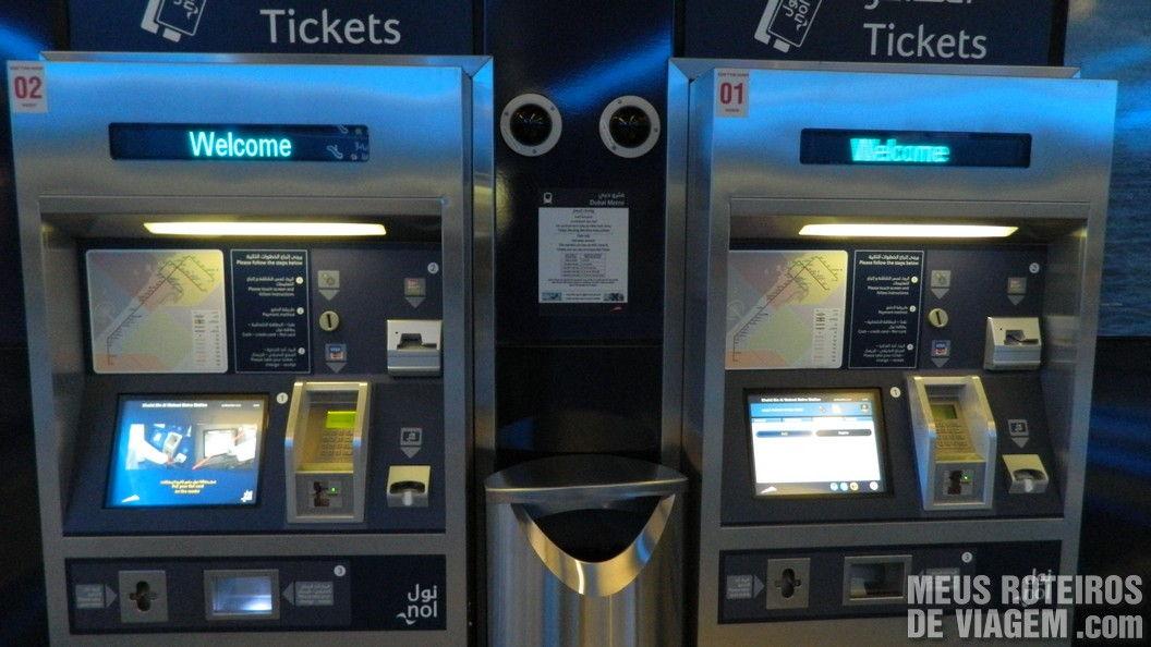 Estação de Metrô de Dubai