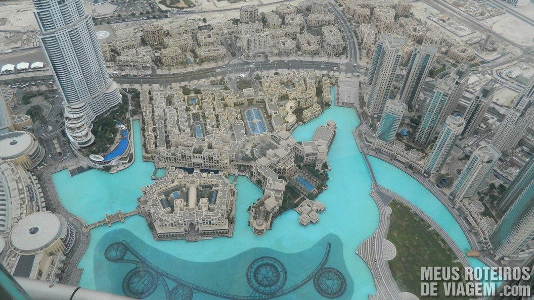 Lago do Burj Khalifa - Dubai