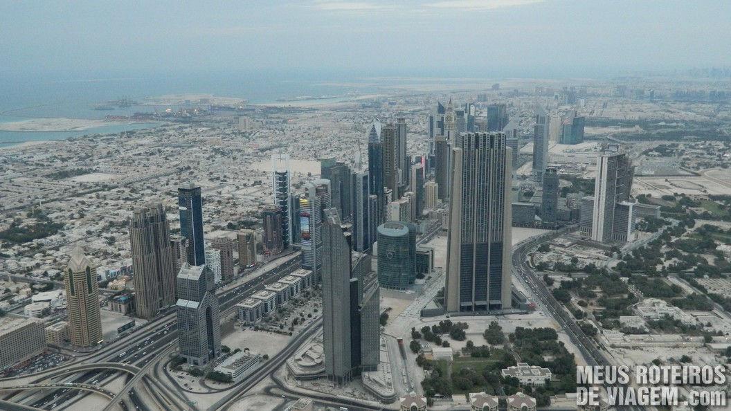 Prédios da Sheikh Zayed Road - Dubai