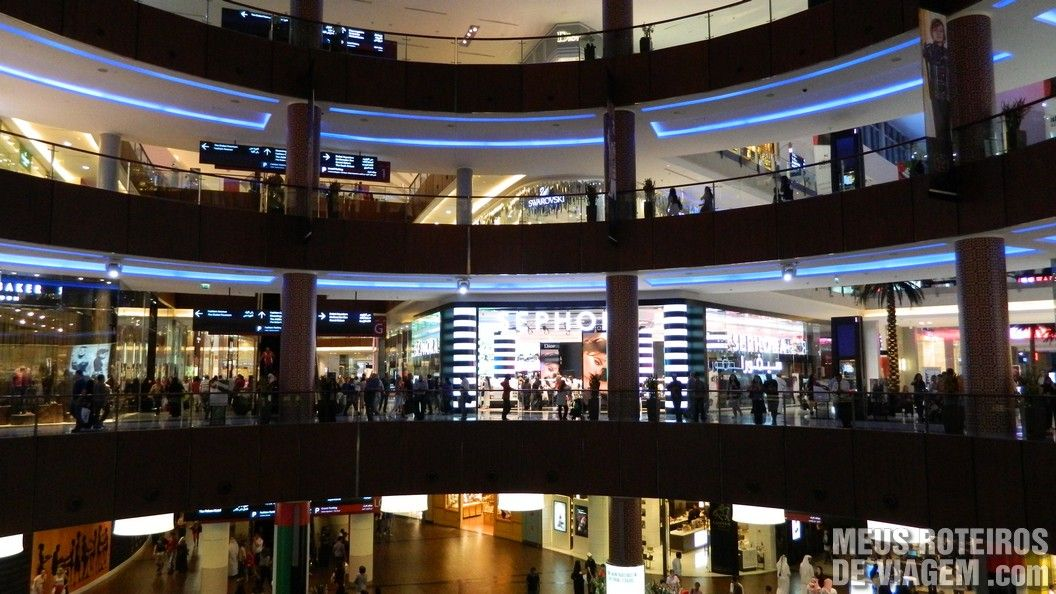 Shopping Dubai Mall - Emirados Árabes