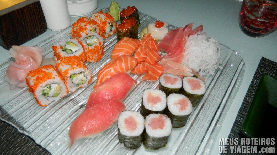 Sushi Supreme no Nasimi Beach Club - Atlantis, Dubai