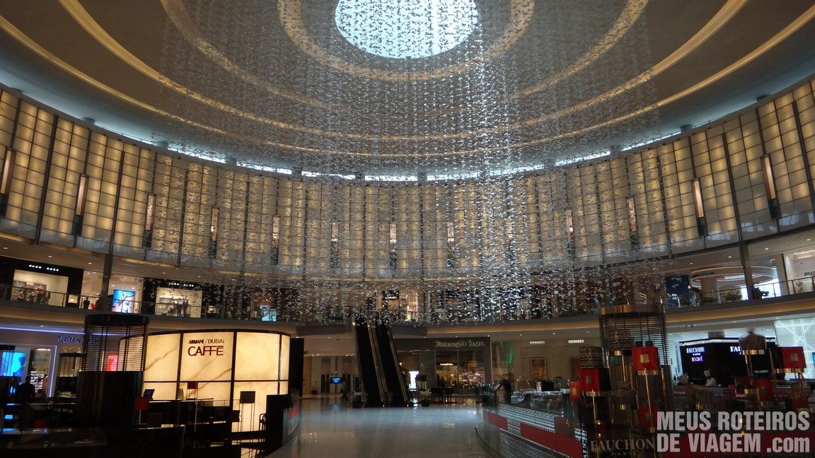 Fashion Avenue do Dubai Mall - Shopping em Dubai