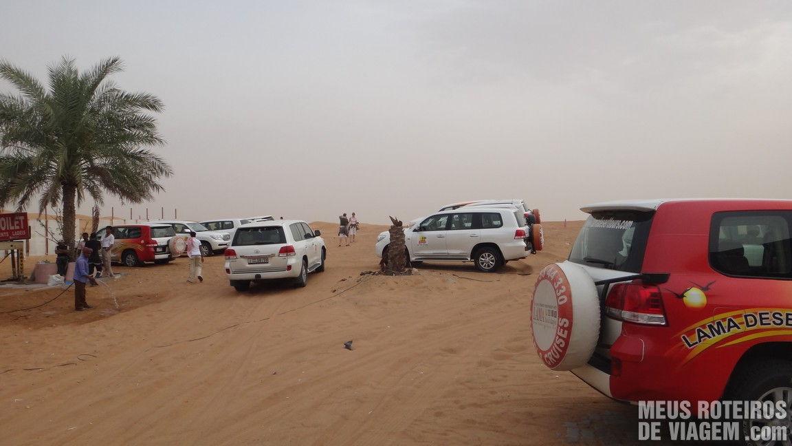 Passeio no deserto de Dubai - Emirados Árabes