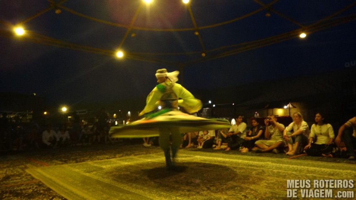 Show de danças típicas