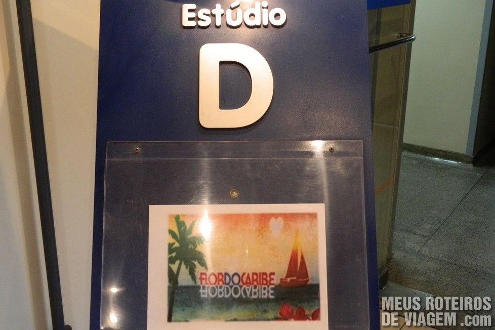 Recepção do estúdio D