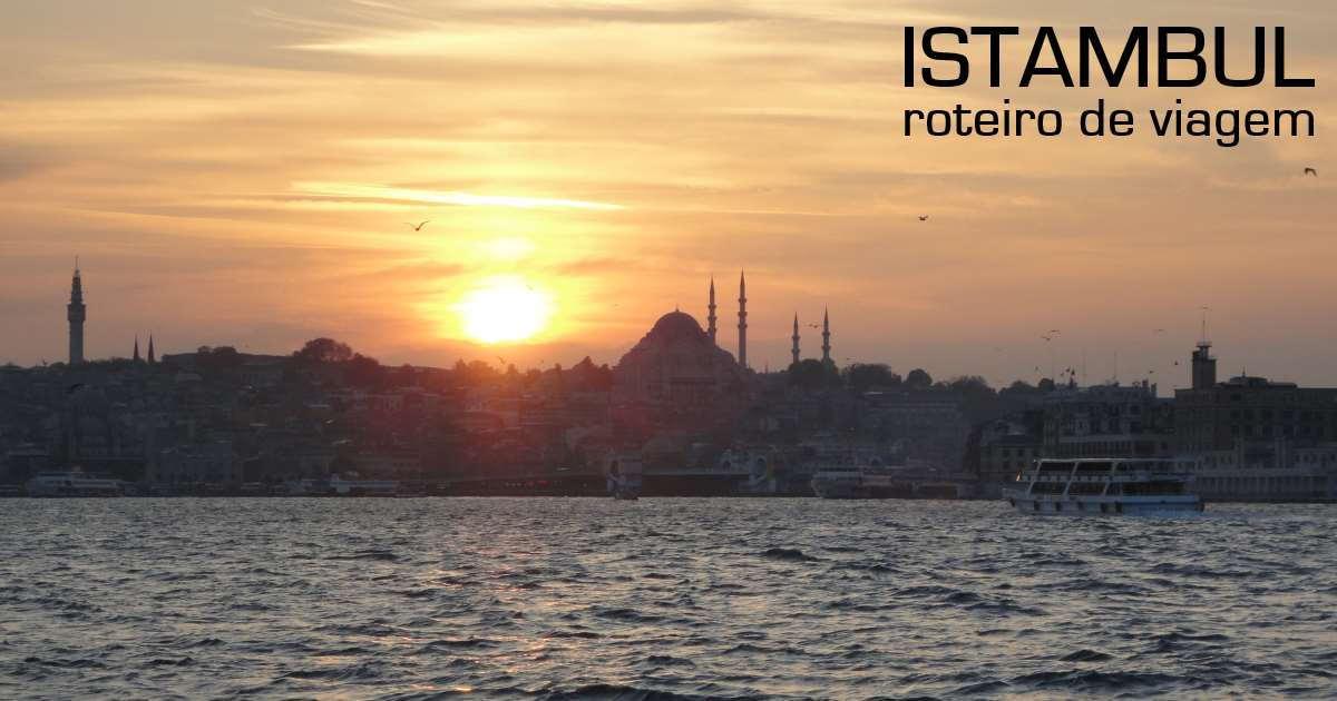 istambul - roteiro