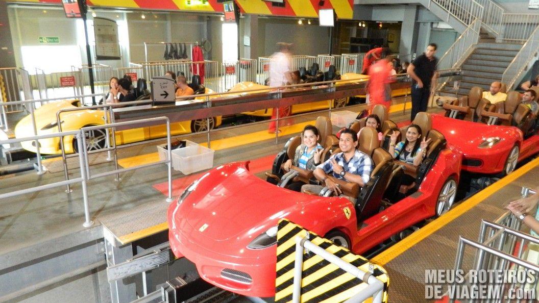 9360de735d6 Montanha-russa Fiorano GT Challenge no Ferrari World - Abu Dhabi