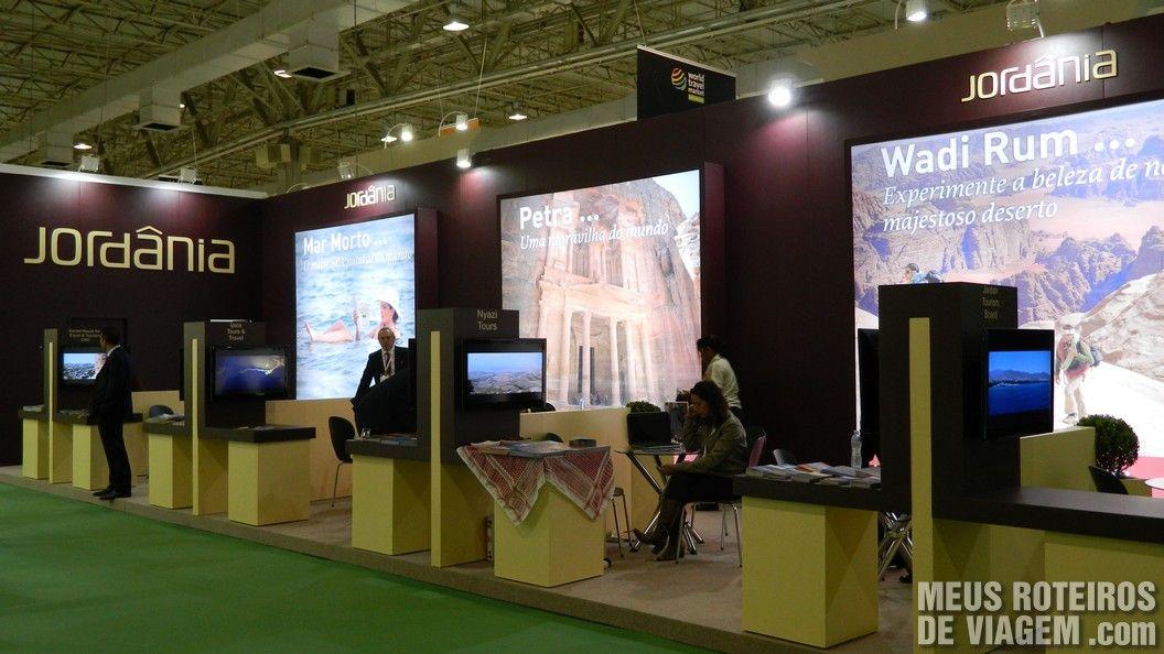 Estande da Jordânia na WTM Latin America 2013