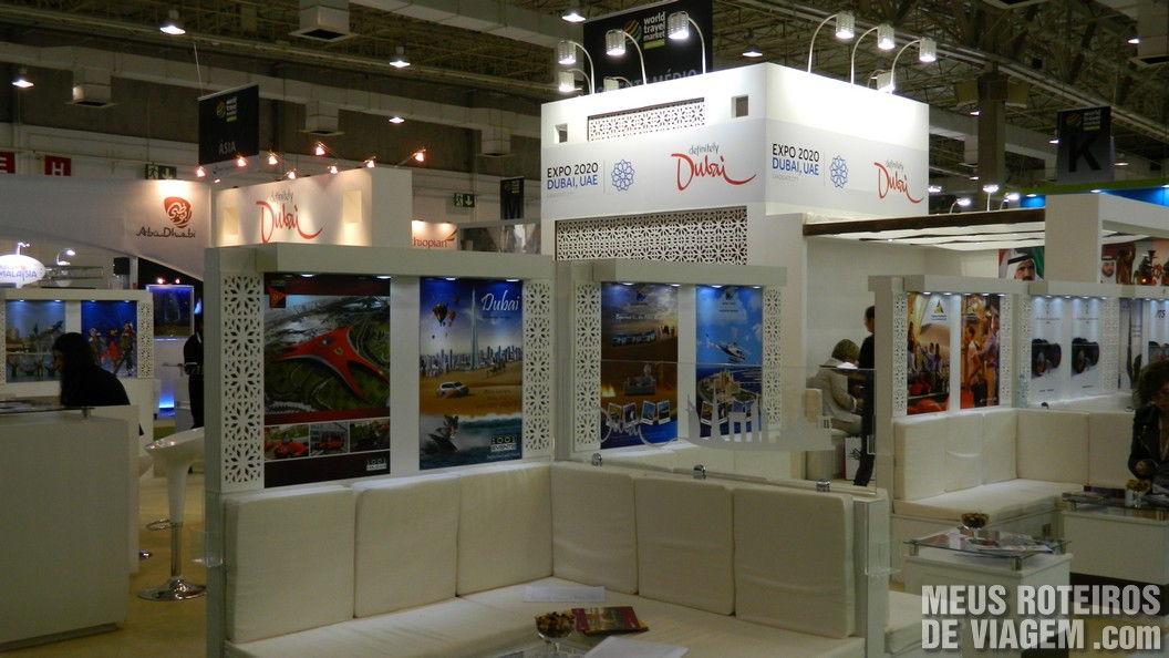 Estande de Dubai na WTM Latin America 2013