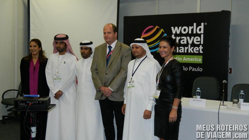 Coletiva de Imprensa de Dubai