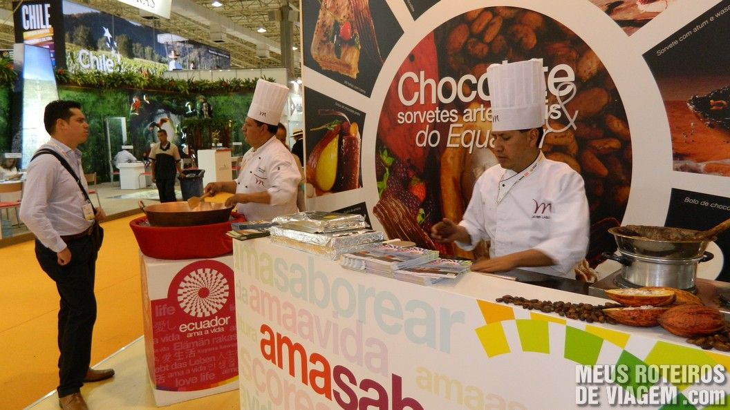 Estande do Equador na WTM Latin America 2013