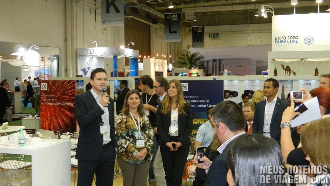 Estande da Alemanha na WTM Latin America 2013