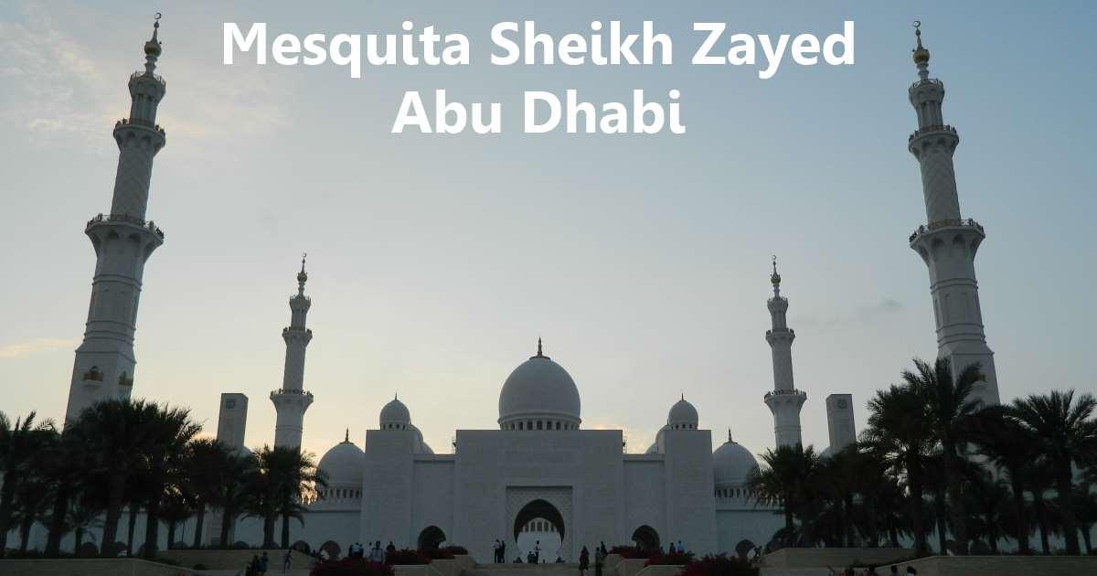 abu dhabi - mesquita
