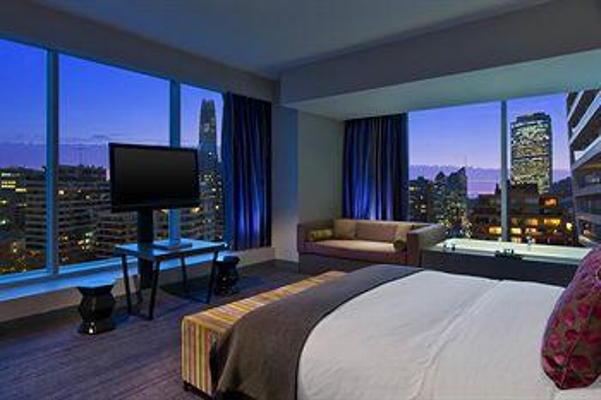 Suíte do hotel W Santiago (fonte: starwoodhotels.com)