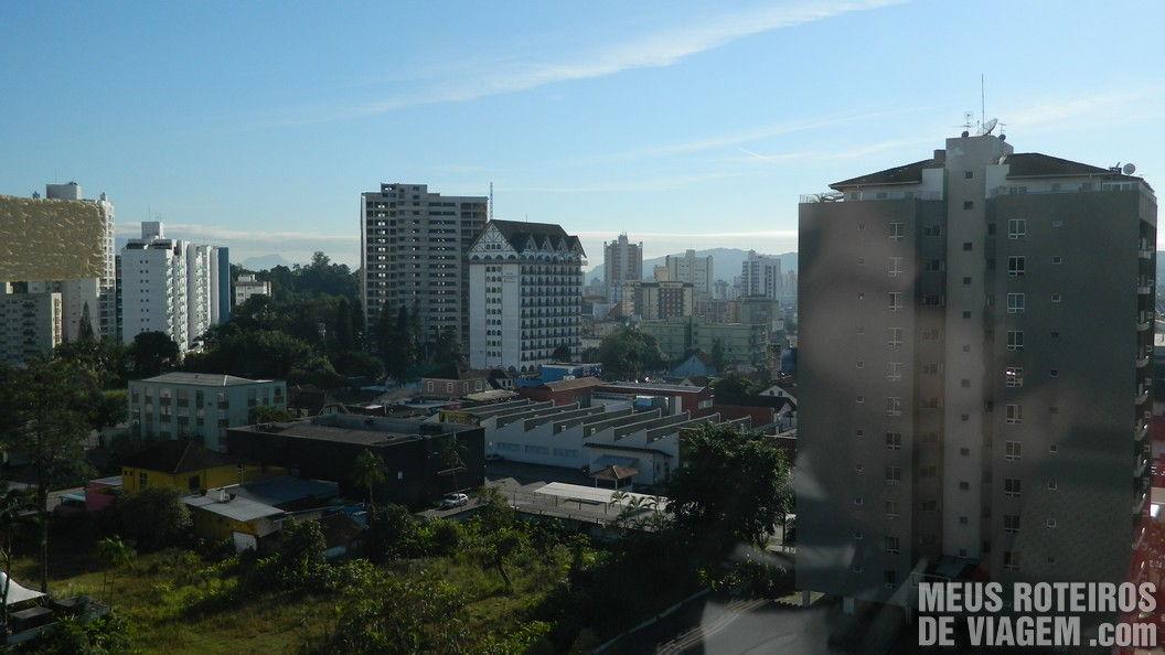 Vista do Comfort Hotel Joinville