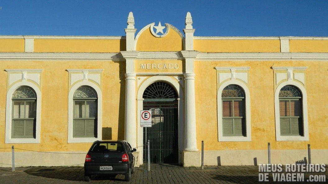 Mercado Municipal do Centro histórico de São Francisco do Sul - Santa Catarina