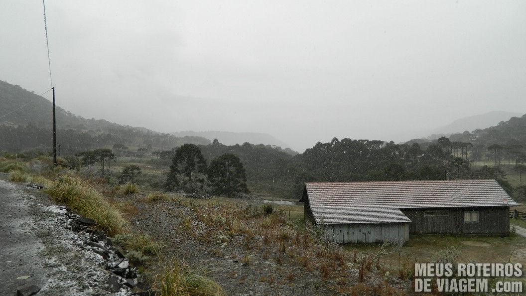 Neve em Urubici - Serra Catarinense