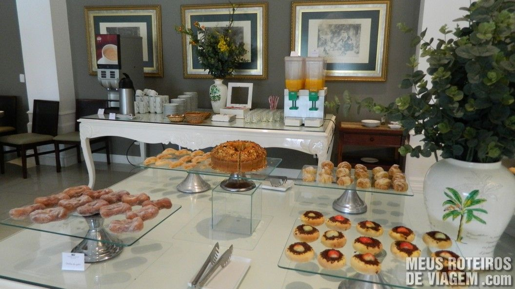 Café da manhã do Infinity Blue Resort e SPA - Balneário Camboriú/SC