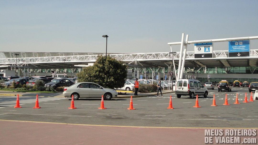 Terminal A do Aeroporto de Ezeiza - Buenos Aires