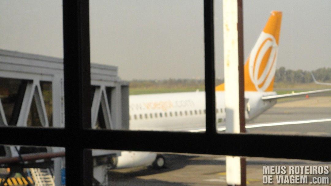 Avião da Gol em Buenos Aires