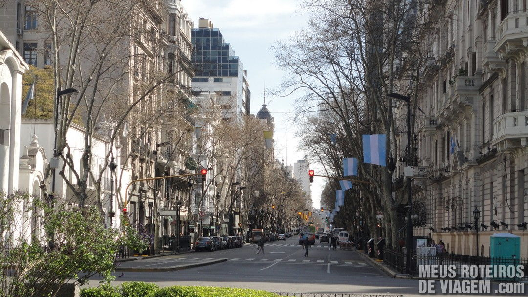 Av. de Mayo - Buenos Aires, Argentina
