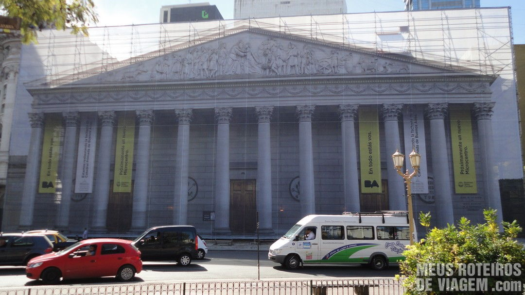 Catedral de Buenos Aires em obras