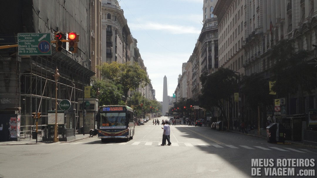 Av. Diagonal Norte - Buenos Aires