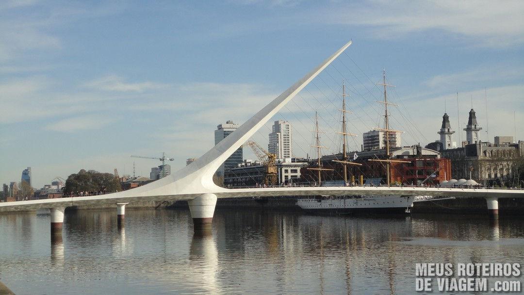 Puente de la Mujer - Buenos Aires, Argentina
