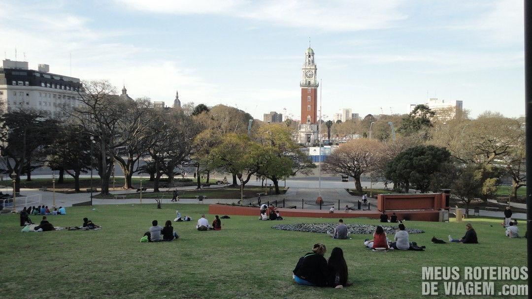Plaza San Martin - Buenos Aires, Argentina