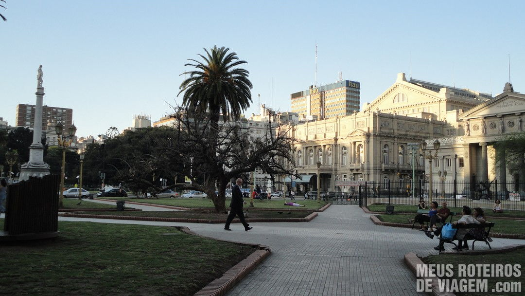 Plaza General Lavalle - Buenos Aires, Argentina