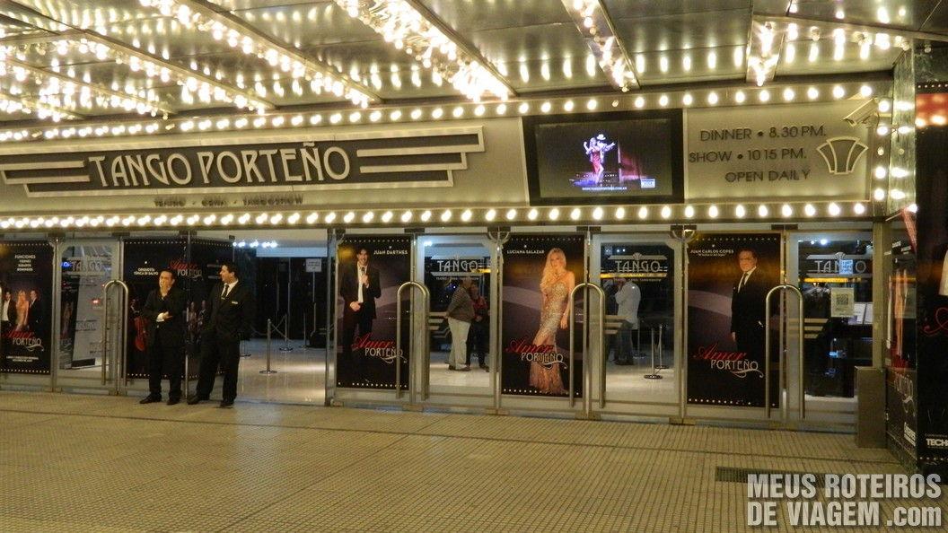 Show no Tango Porteño - Buenos Aires