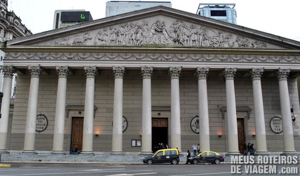 Fachada da Catedral Metropolitana de Buenos Aires - Argentina