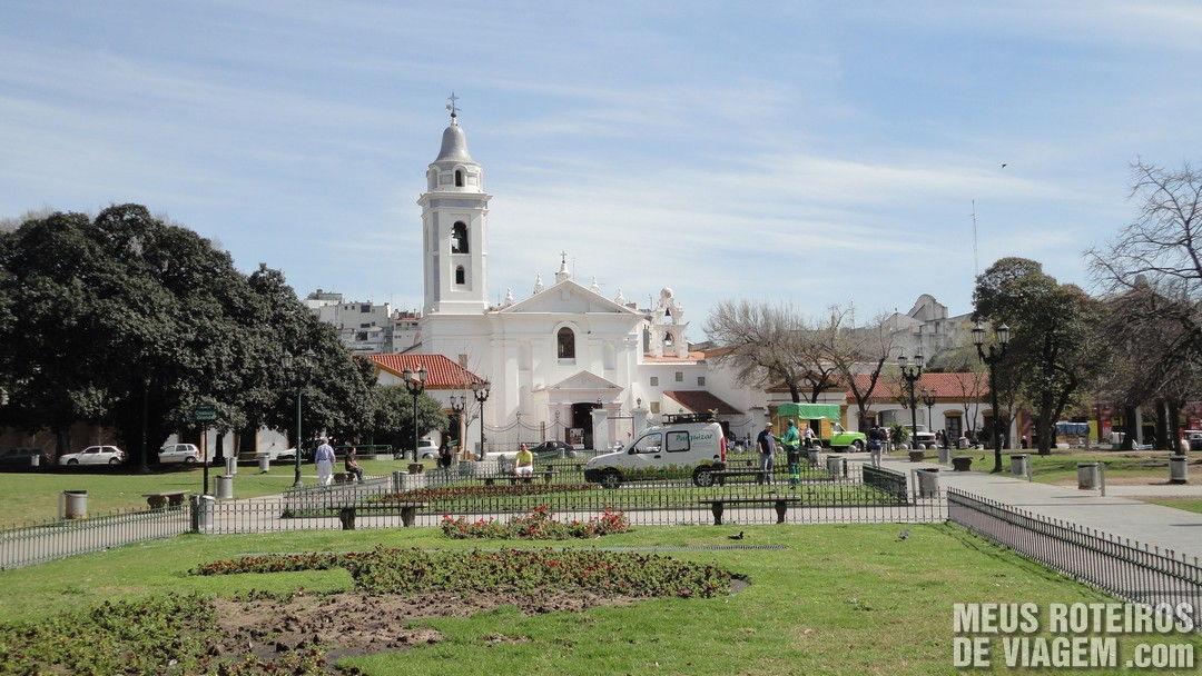 Praça na Recoleta - Buenos Aires, Argentina