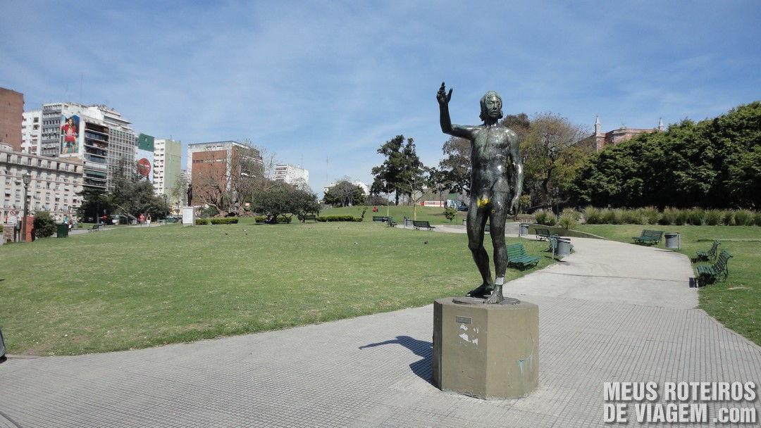 Praça na Recoleta