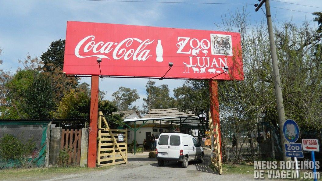 Entrada do Zoo Lujan - Buenos Aires