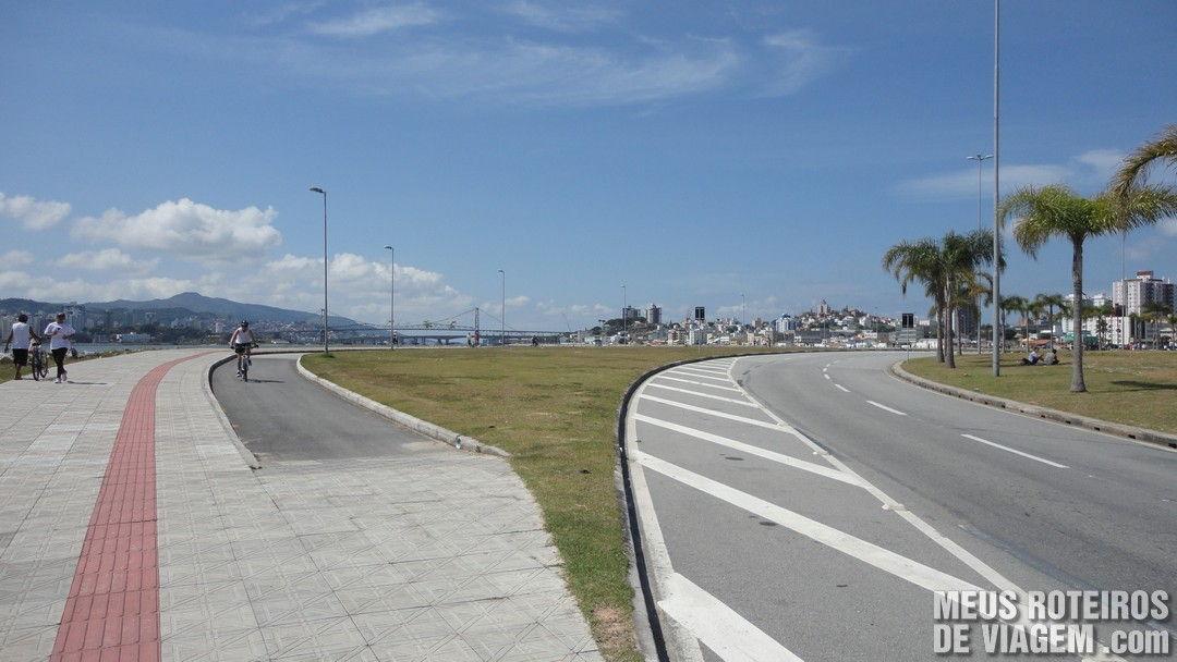 Ciclofaixa de domingo - Florianópolis