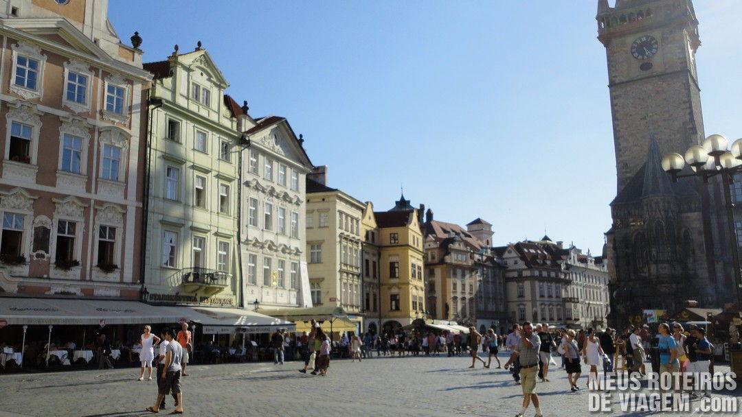 Praça da Cidade Velha - Praga