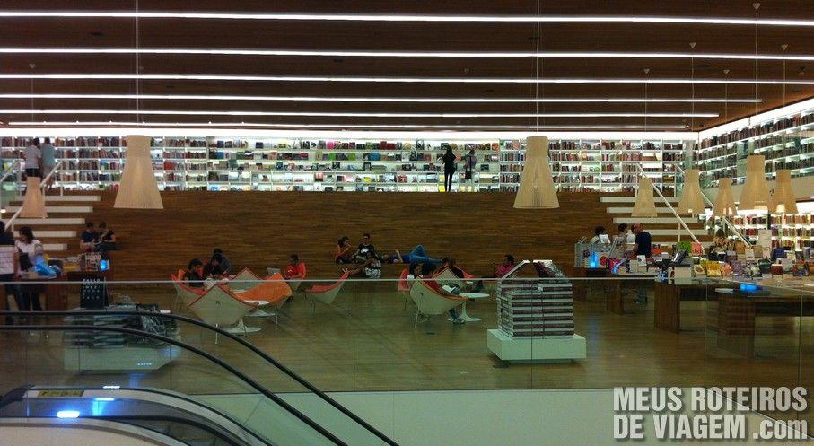 Livraria Cultura do Shopping Iguatemi São Paulo