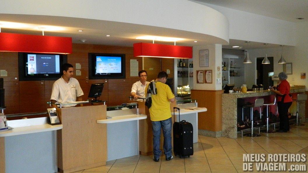 Recepção do Hotel Ibis Porto Alegre Aeroporto
