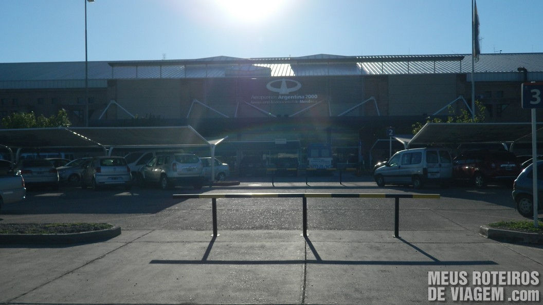 Aeroporto de Mendoza - Argentina