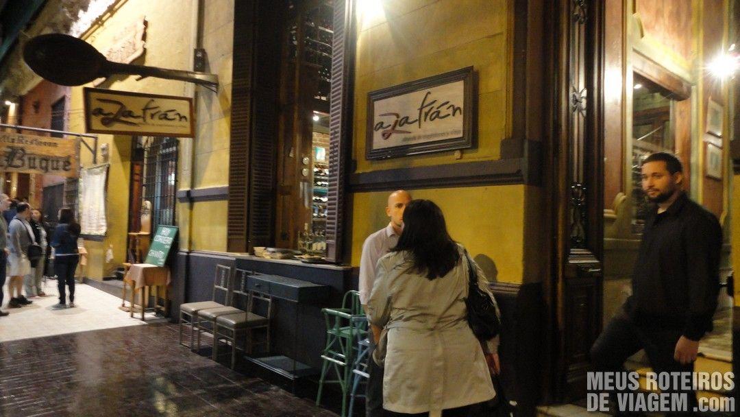 Restaurante Azafrán - Mendoza, Argentina