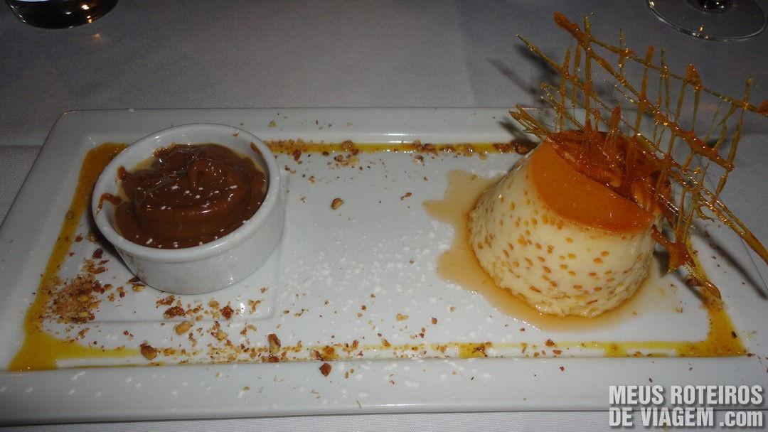 Sobremesa no Restaurante Francesco - Mendoza, Argentina