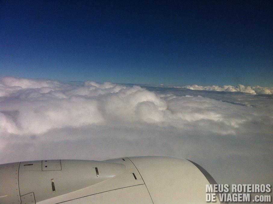 Voando para a Argentina