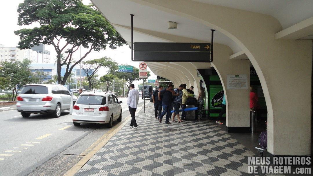 Área de espera do transfer