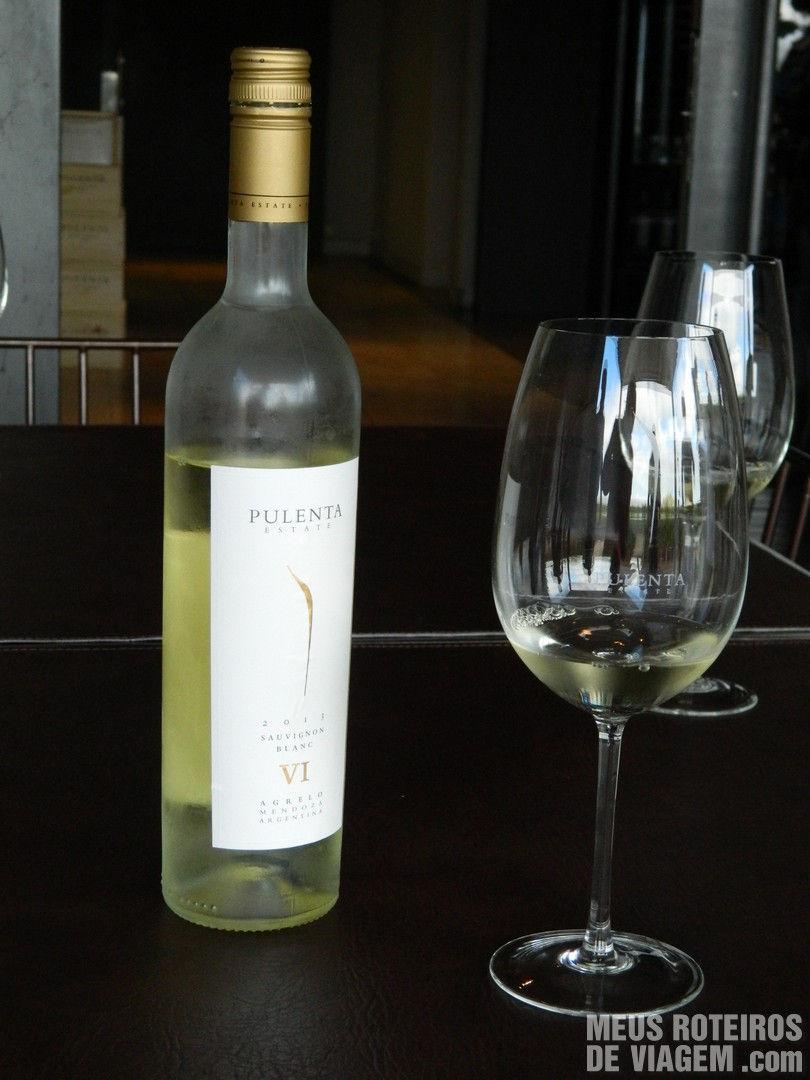 Sauvignon Blanc na Bodega Pulenta Estate - Mendoza, Argentina